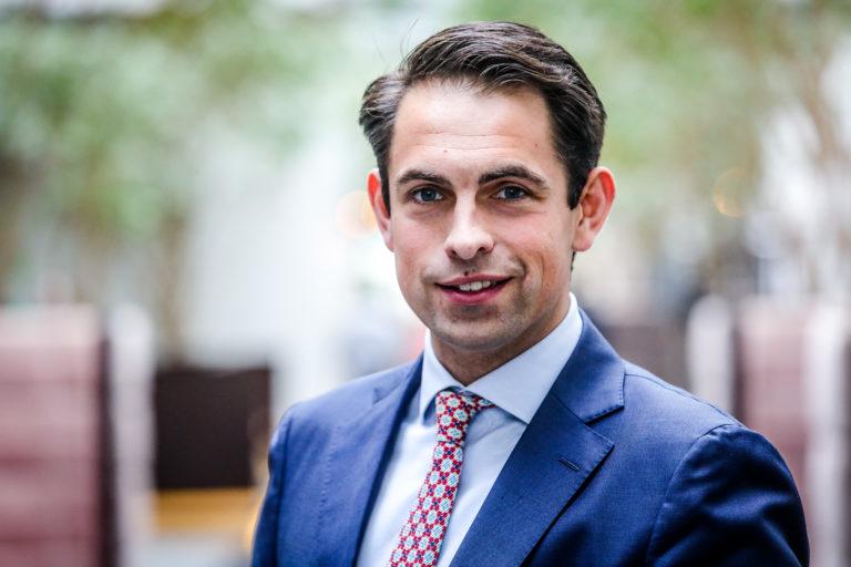"""Tom Van Grieken (Vlaams Belang): """"Ik zou graag mee besturen, maar het cordon is het probleem van N-VA"""""""